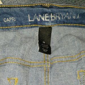 Lane Bryant Jeans - Women capri crop jeans lane bryant